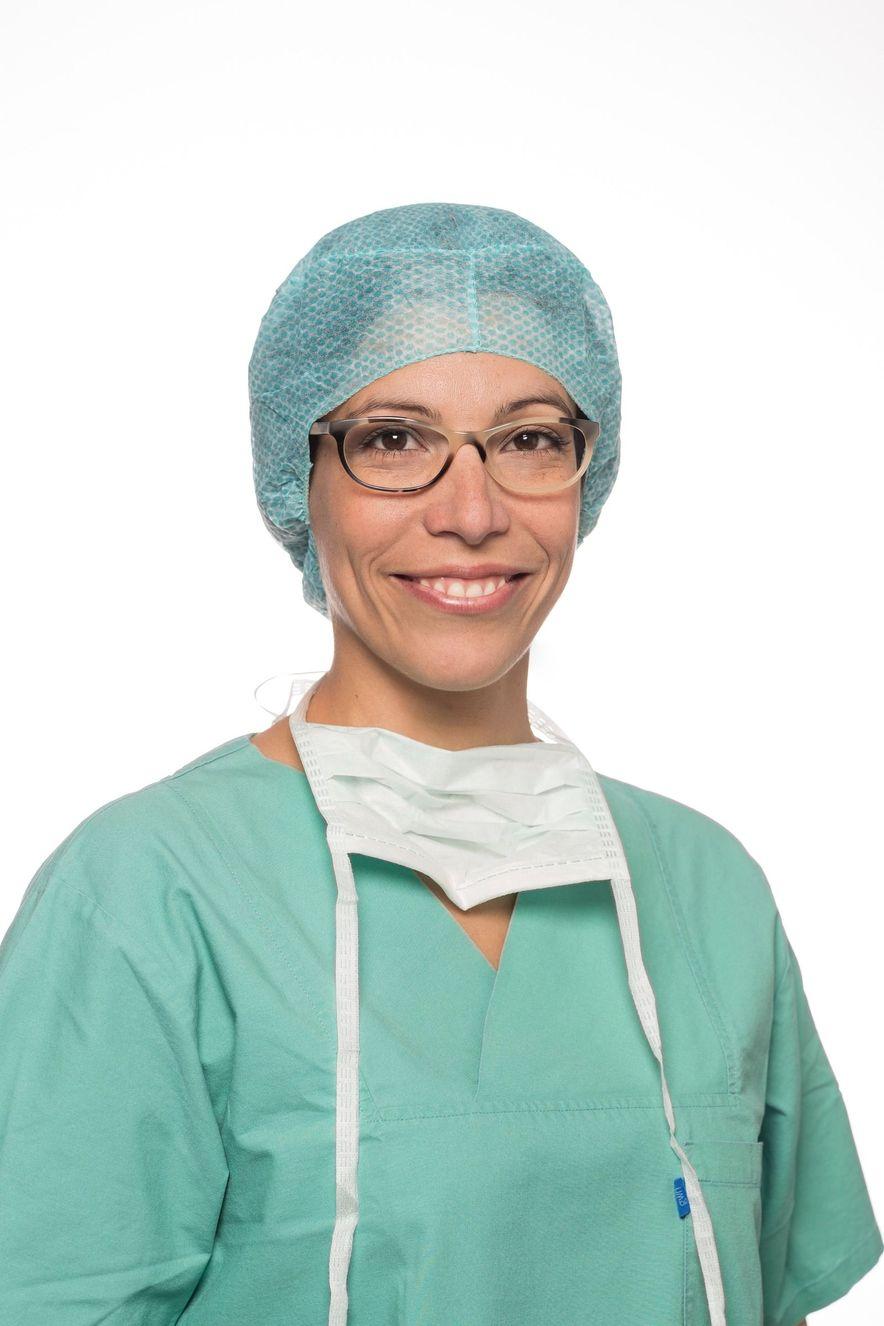"""Dr. Catarina Hadamitzky: """"Der mediven cosy ist leicht anzuziehen, flexibel und bietet eine große modische Vielfalt."""""""
