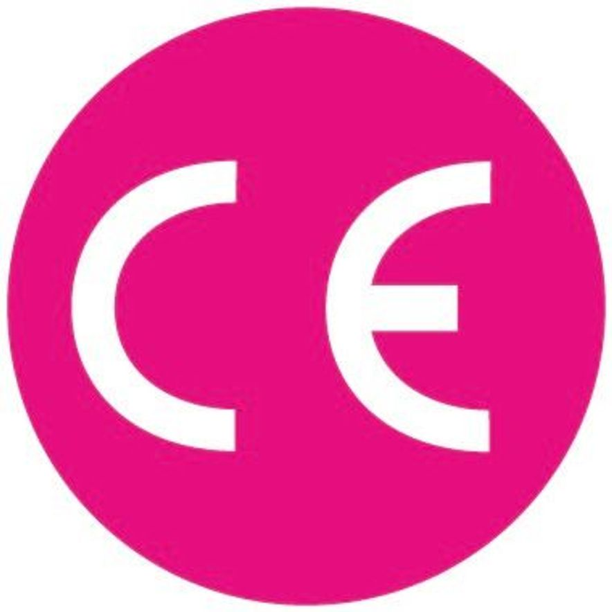 Siegel: CE-zertifiziert