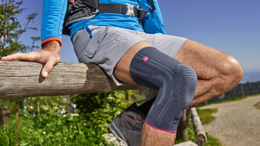 Genumedi Kniebandage zur Unterstützung beim Wandern