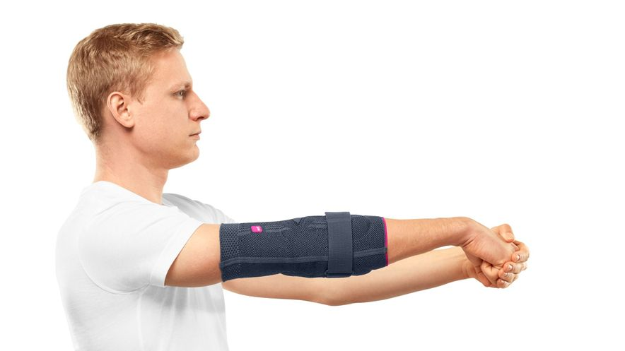 Tennis elbow: Stretching exercise