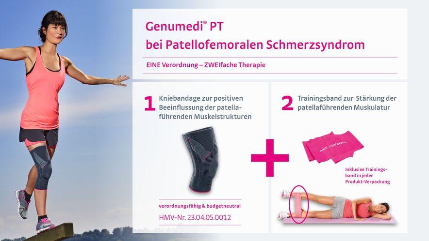 Genumedi PT zur Therapie des Patellofemoralen Schmerzsyndroms