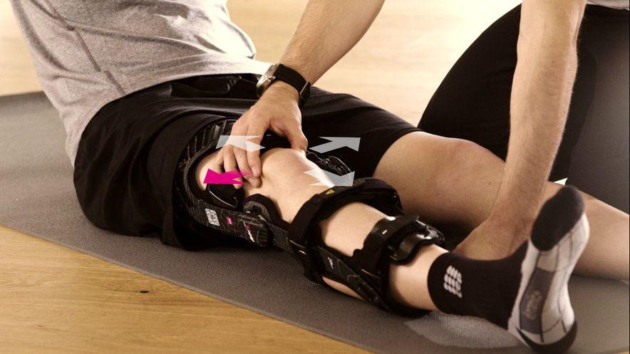 Übung zur Mobilisierung der Kniescheibe
