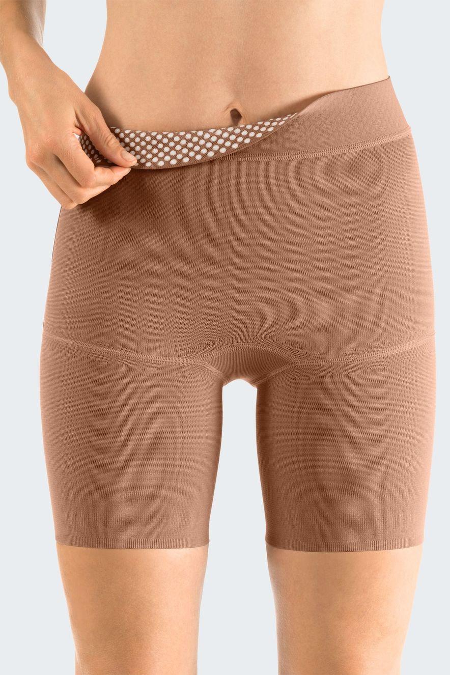 Haftbänder: Taillenabschlussband am Leibteil mit Noppenhaftband