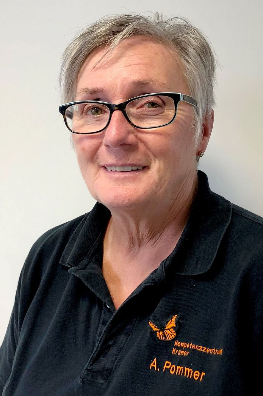 Frau Pommer vom Kompetenzzentrum Kramer, Papenburg