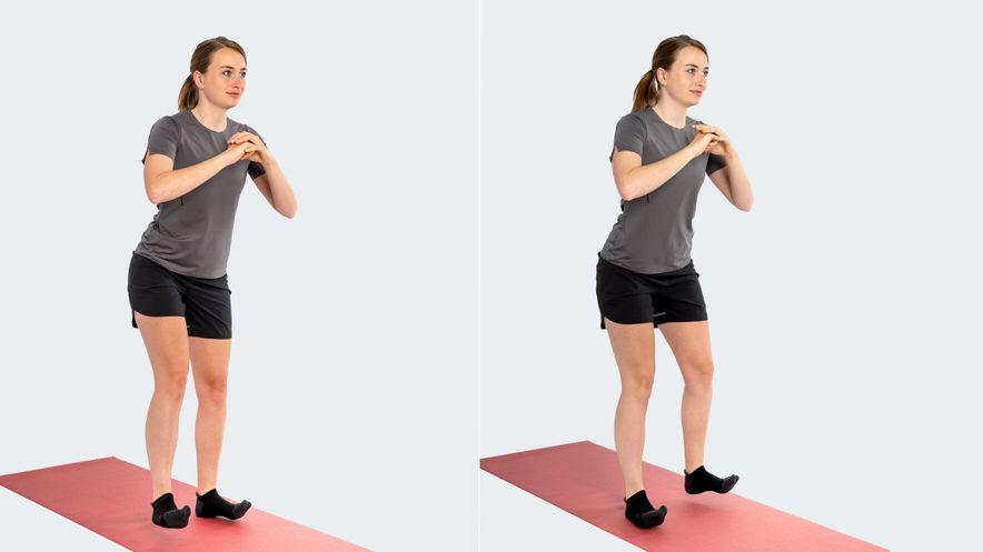 Exercise for heel spur: heel walk