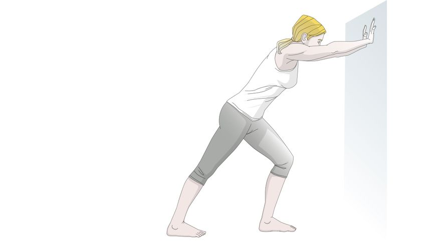 Exercises for the feet: stretching your calves