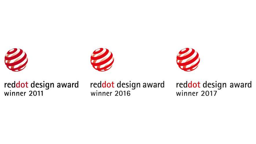 Red Dot Design Award Winner