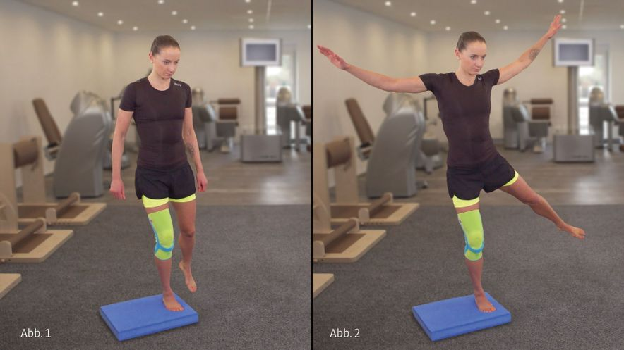 Patella tendon syndrome jumping jack for coordination
