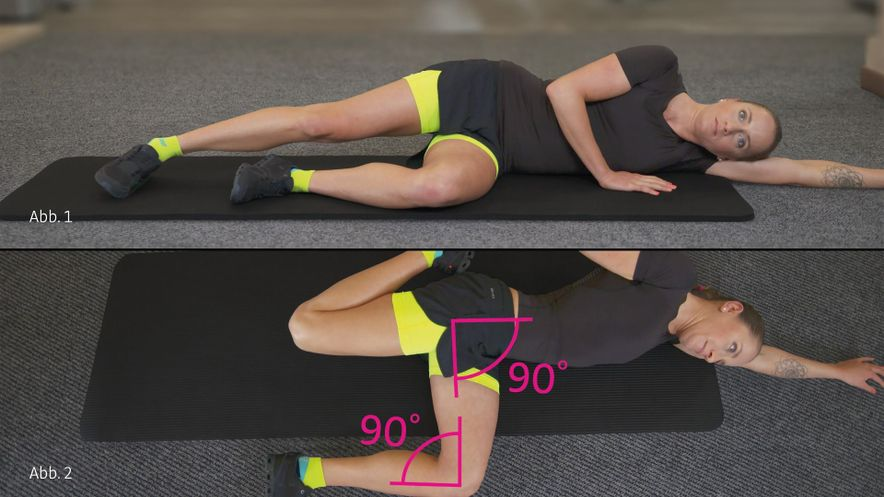 patella tip syndrome physiotherapy exercise thigh stretching
