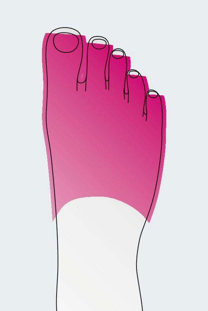 Open toe cap
