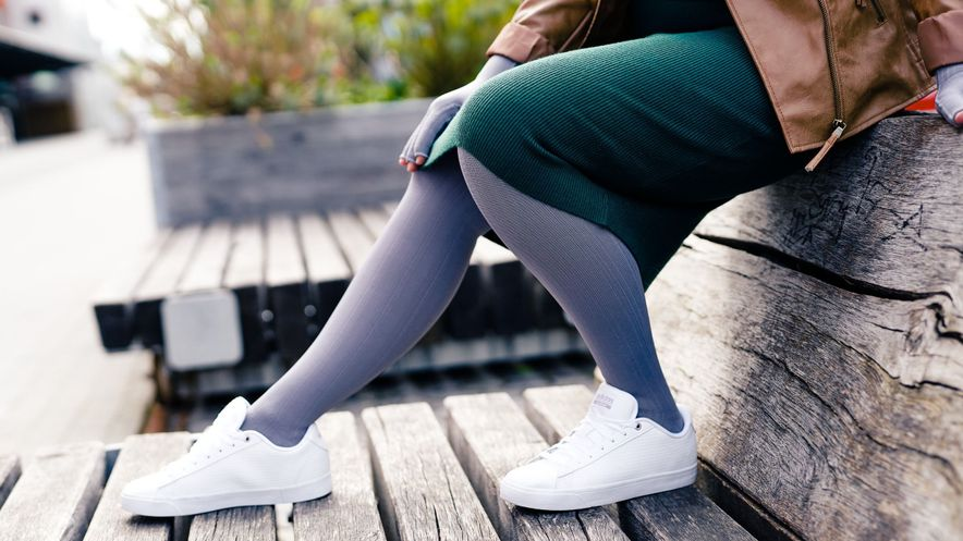 mediven compression stockings flat knit trend colours campaign 2021