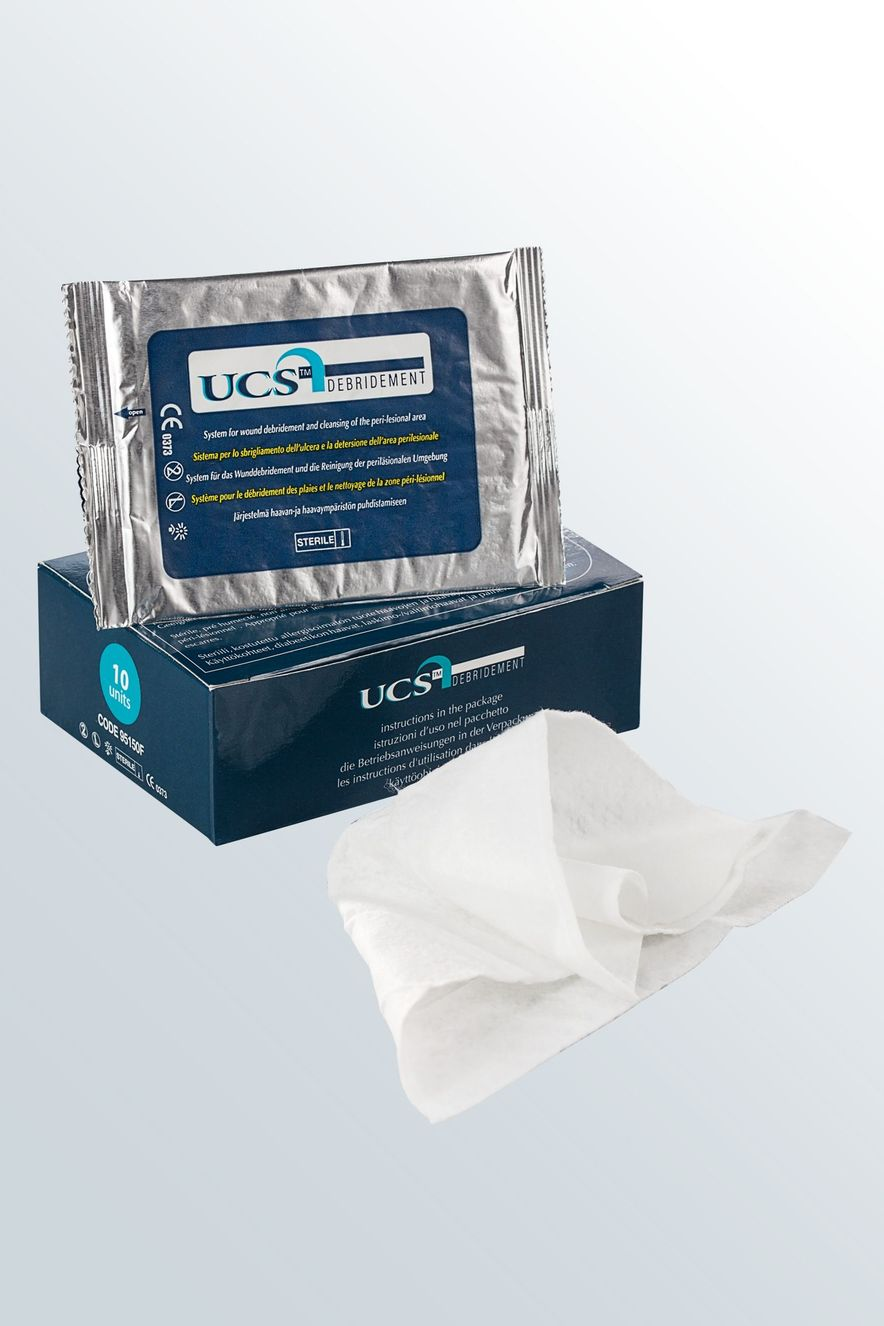 UCS Debridement – the wound debridement system from medi