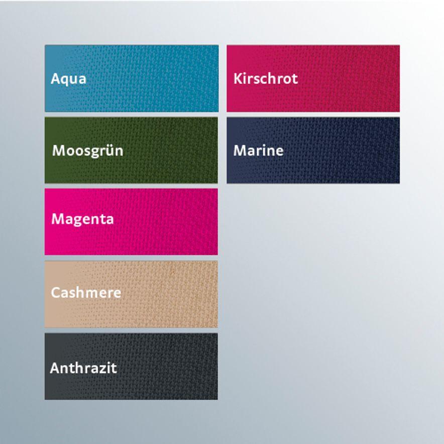 Trendfarben im Flachstrick-Bereich von medi