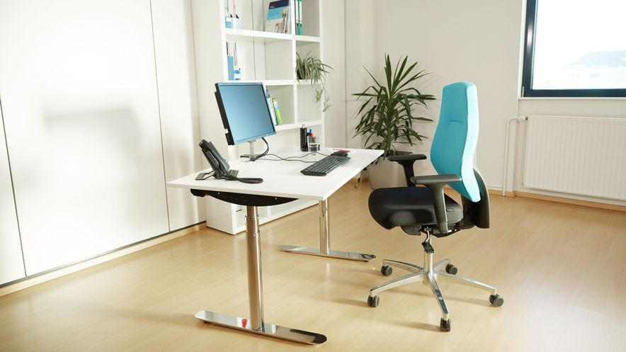 Setting up of an ergonomic workplace