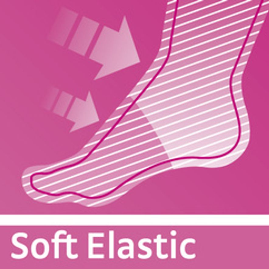 Soft Elastic for more comfort in wear