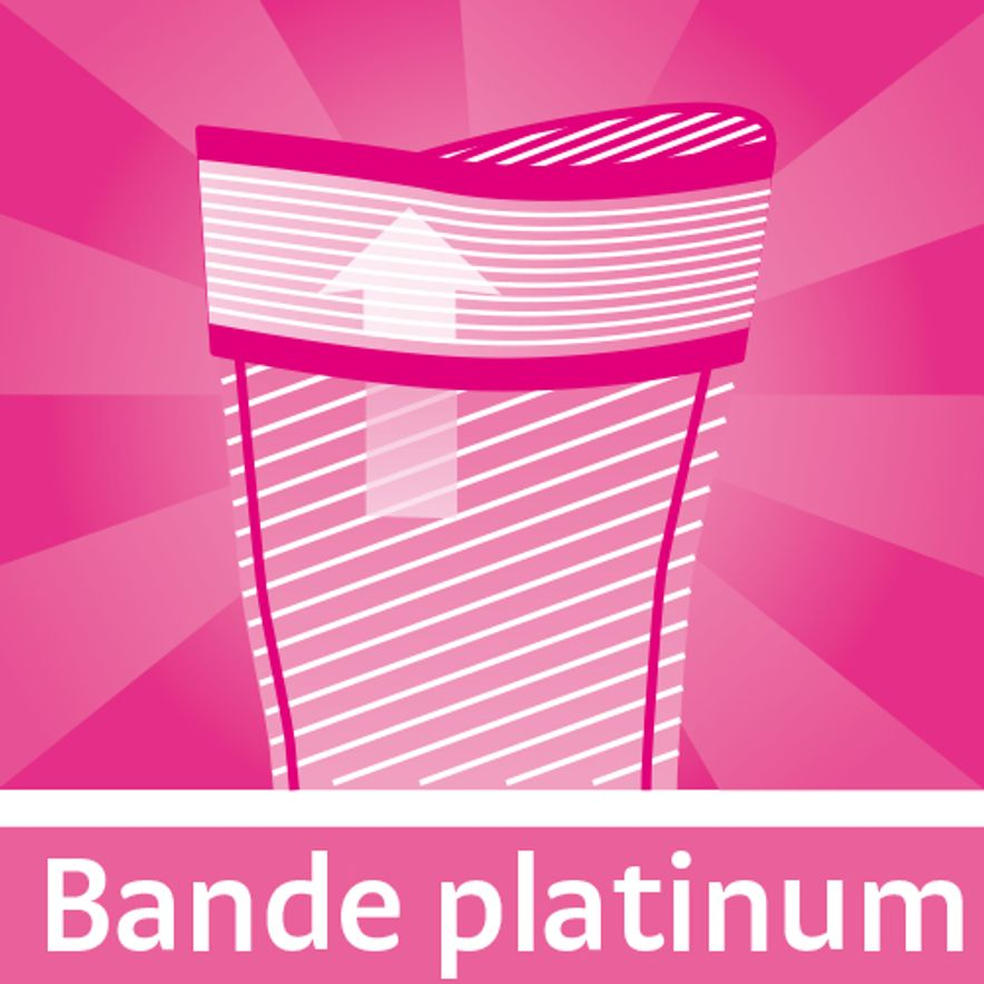 Bande platinum