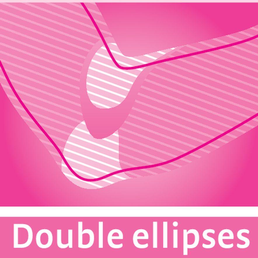 Double ellipses