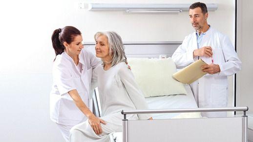 Thromboseprophylaxe Krankenhaus Krankenschwester