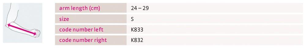 Size chart medi Epico ROMs Kidz UK