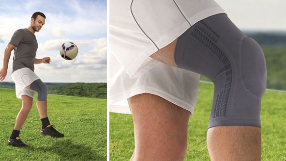 protect Genu knee support man football